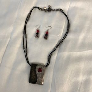 Chico's Necklace & Earring Set